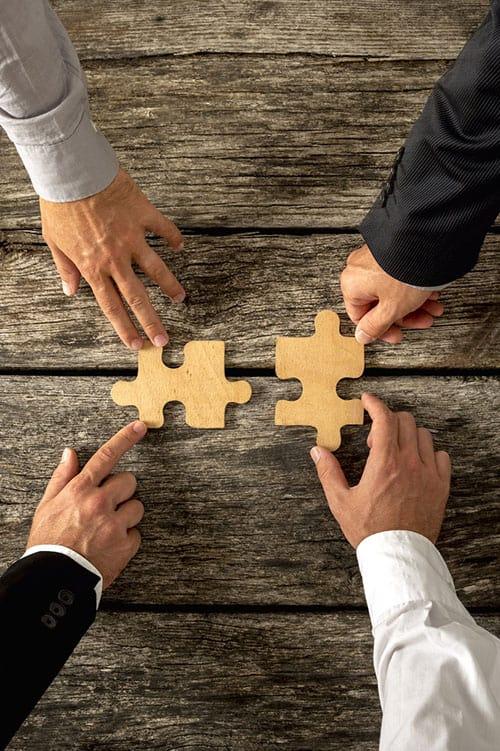 merge companies